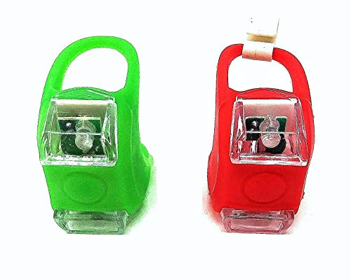 Green Blob Outdoors Navigation Boat Lights Sets Marine LED Portable Emergency Safety Waterproof (Choice of Red, Green, Blue, White) (Green & Red)