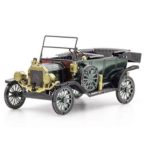 Fascinations Metal Earth Ford Ford 1910 Model T 3D metalen puzzel, constructiespeelgoed, vanaf 14 jaar