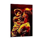 Sergio Ramos Leinwand-Kunst-Poster und Wandkunstdruck,