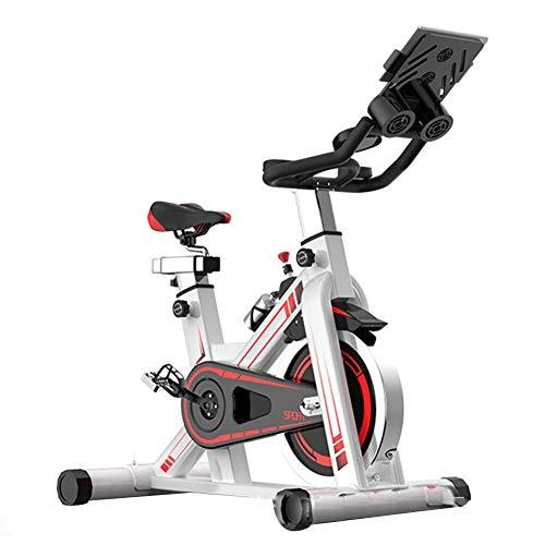ZAIHW Magnetic Heimtrainer Stationäre Riementrieb Indoor Cycling Bike mit hohem Kapazität Gewicht Einstellbare magnetischem Widerstand w/LCD-Monitor
