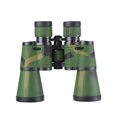 LIMUZI 20 x 50 prismáticos for Adultos, Duradero Claro Ampliar binoculares con luz de la Noche de Baja Visión para observación de Aves, Deportes y Vida Silvestr