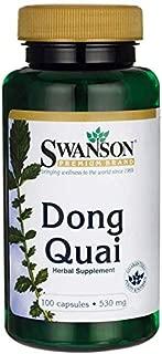 Swanson Dong Quai 530 Milligrams 100 Capsules