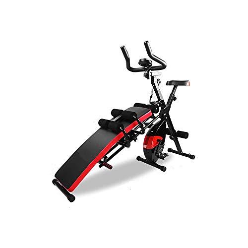 KDKDA Indoor Spinning Ejercicio Ciclo de la Bici Bicicleta Fija Ajustable Pie Equipo de la Aptitud