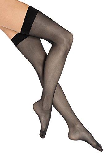 Wolford Individual 10 Stocking - Mujer negro