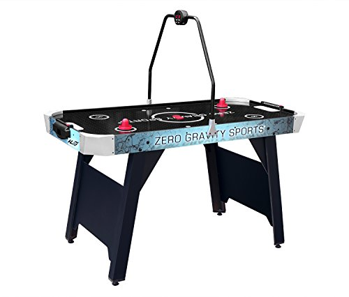 4.5ft Air Hockey Game Table for Kids and Adults with Electronic Scorer