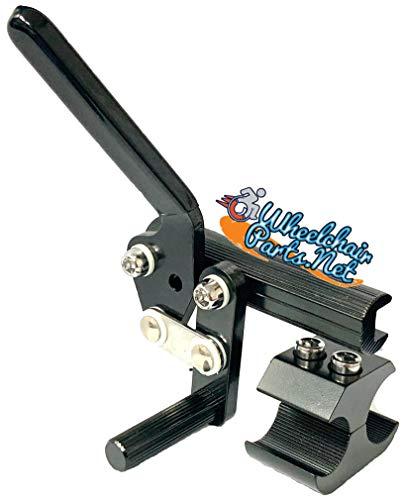 Wheel Lock, Aluminum, Left, Fits 1