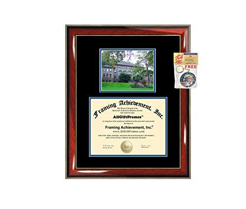 Western Washington University Diploma Frame Campus Picture WWU Graduation Gift Degree Frame College Plaque Holder Case Photo Certificate Framing Case Graduate