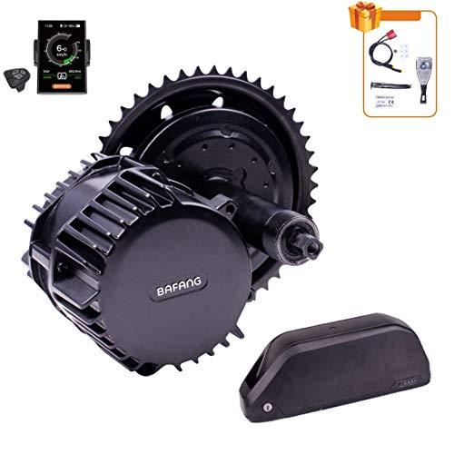 Bafang BBSHD BBS03B 1000W Mid Drive Motor para MTB Road Bike City Bike Kit de conversión de Bicicleta eléctrica con batería de Iones de Litio 48v / 52v