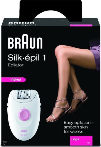 Braun Silk Epil 1 (1170) Epilator Leg Hair Removal System