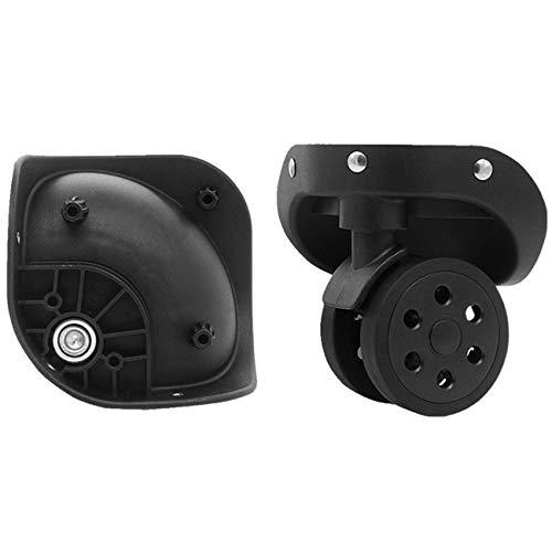 Un par Spinner 360 rueda de rotación ruedas de equipaje de repuesto para maletas reparación de casos de viaje (YF-W030)