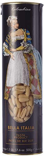 Antico Pastificio Umbro Conchiglie Edition Colombina - feinste Nudeln in Muschelform aus Hartweizengrieß in der attraktiven Geschenkröhre, 2er Pack (2 x 500 g)