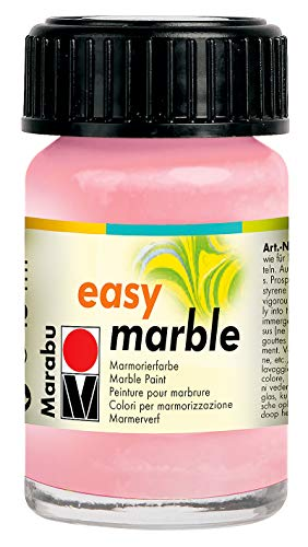 Marabu 033Einfache Marmorfarbe, 15 ml, Rosa