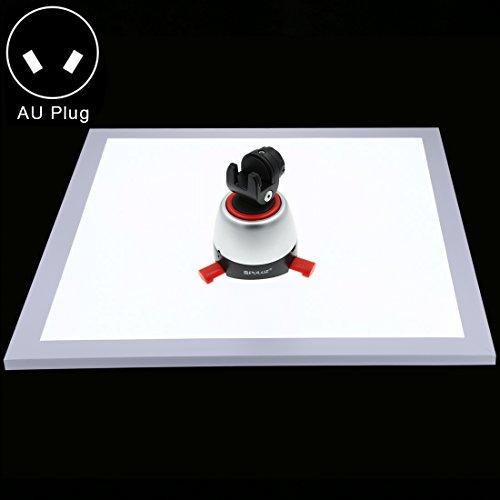 Camera statief vullen licht kit 1200LM LED Fotografie Schaduwloze Lamp Paneel Pad met Schakelaar, Acryl Materiaal, Geen Polar Dimmen Licht, 34,7 cm x 34,7 cm Effectief gebied, Kleur2