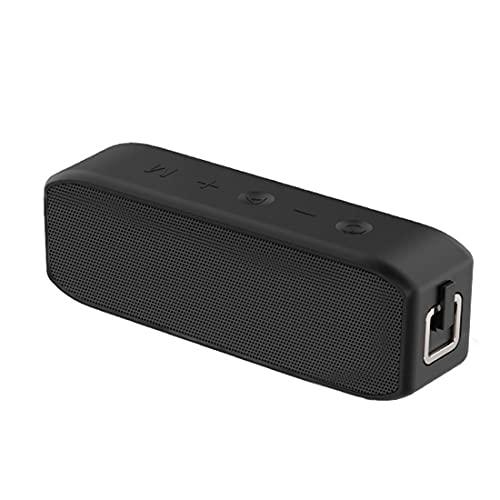 XJST Altavoz Bluetooth, Altavoces Inalámbricos Portátiles, Altavoz Bluetooth De Alta Potencia De 20W, Altavoz Inalámbrico Impermeable IPX7, para Exteriores, Camping,Negro