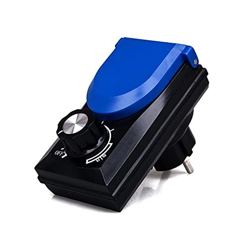 Leistungsregler Steckdose 100-230V bis 800Watt Drehzahlregler für Teichpumpen