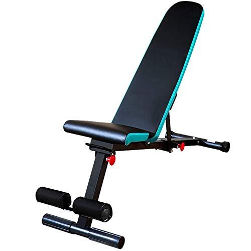 DSHUJC Multifunktions-Fitnessstuhl, Krafttrainingsgeräte Hantelhocker Home Sit-ups Hilfs-Trainingsgeräte, Für jeden geeignet