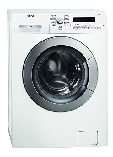 AEG LAVAMAT L73260VSL Waschmaschine FL / A++ / 156 kWh/Jahr / 1200 UpM / 6 kg / 9890 L/Jahr / Platzsparend /20 Min. Kurzwaschprogramm