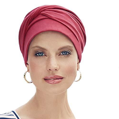 Christine Headwear Turbant Mila en Coton Supima Extra Doux et Frais