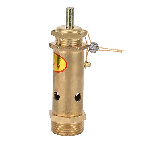 Válvula de compresor de aire, válvula de presión profesional fácil de instalar, válvula de alivio G3 / 4, para generadores de vapor industriales o calderas eléctricas, calderas de carbón