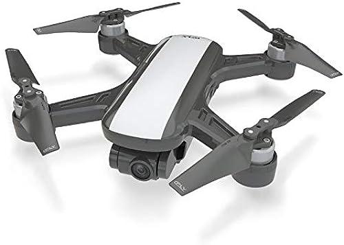Faironly Dream 5G Altitude Hold Drohne GPS Optischer Fluss Positionierung Follow Me RC Quadcopter One Key Return Weiß 3 batteries