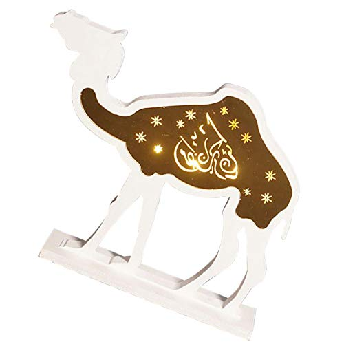 Niumen Ramadan Dekorationen Holz Anhänger Ornament Ramadan Kareem Dekoration Muslimische Tischdekoration Ornament Acryl Zeichen Für Home Party Supplies