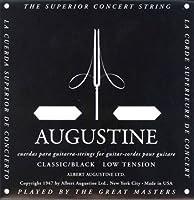 AUGUSTINE BLACK 3弦バラ弦単品×4本 クラシックギター弦 3弦のみのバラ弦です。
