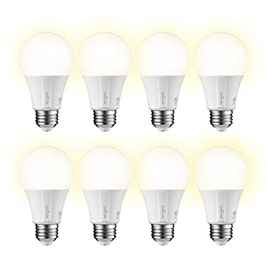 Element Classic by Sengled - A19 Soft White 2700K Smart LED Bulb (Hub Required), Works with Alexa, Google Assistant, Echo Plus & SmartThings - 8 Pack