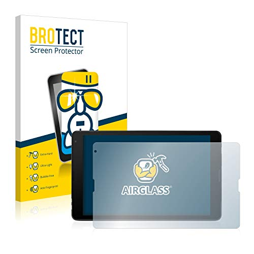 BROTECT Panzerglas Schutzfolie kompatibel mit Medion Lifetab E10513 (MD 60638) - AirGlass, extrem Kratzfest, Anti-Fingerprint, Ultra-transparent