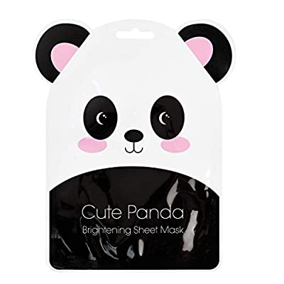 Cute Panda Korean Made Brightening Sheet Mask