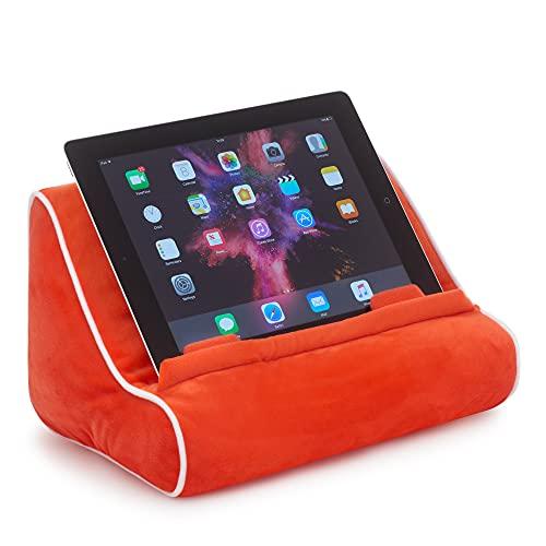 Gifts for Readers & Writers Book Couch Supporto iPad Tablet novità Leggio in Cuscino per eReader Idea Regalo - Rosso