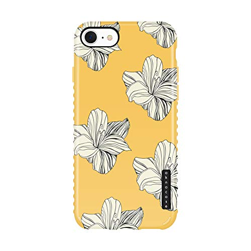 iPhone 8 & iPhone 7 & iPhone SE [2020 Released] case Flower, Akna Collection Flexible Silicon Cover for iPhone 8 & iPhone 7 & iPhone SE [2020 Released] (1247-U.S)