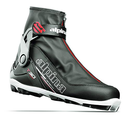 Alpina Sports T30 Cross-Country Touring Ski Boots, Black/White/Red, Size 41