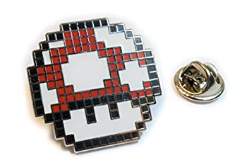pixel mario mushroom
