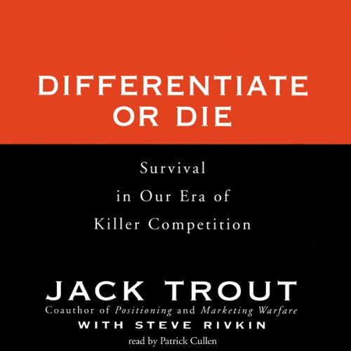 Differentiate or Die audiobook cover art