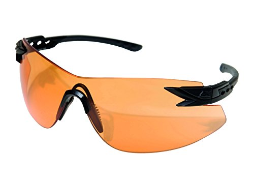 Edgeware Tiger Edge Tactical Safety Eyewear, revêtement Notch, Noir Mat, Anti-Rayures, beschlagfrie Adulte S Eye Vapor Shield Protection Lunettes, Multicolore, Taille Unique