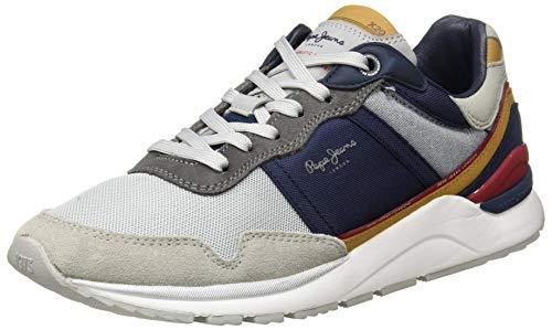 Pepe Jeans X20 Basic Sport, Zapatillas Hombre, 945gris, 42 EU