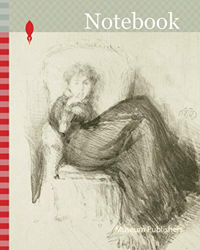 Notebook: Study of Maud Seated, 1878, James McNeill Whistler, American, 1834-1903, United States, Lithotint in black, with scraping and roulette, on ivory wove proofing paper