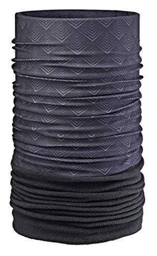 Areco Erwachsene Tuch Fleece'18 Schal, Anthrazit, One Size