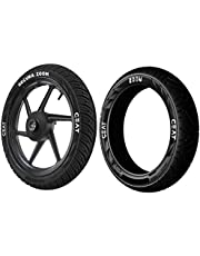 Ceat Secura Zoom F 90/90 -17 49P Tubeless Bike Tyre, Front (Home Delivery)