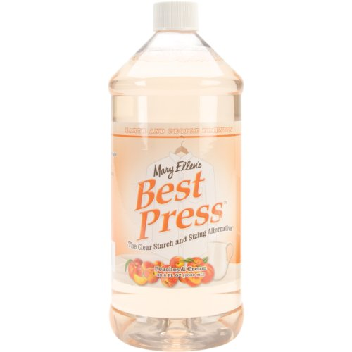 Mary Ellen Products 60131 Best Press Spray Ironing Starch, Peaches N Cream, 33.8-Ounce