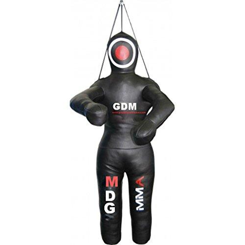 Gdm Mma Mma Grappling dummy dummy Lucha Judo Artes Marciales Bolsa de boxeo 59 pulgadas sin llenar