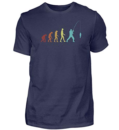 Mosche pesca spinning | 01012 - Camiseta para hombre, azul oscuro, XXL