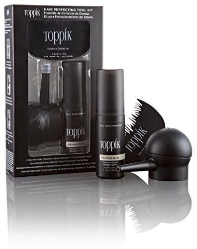 Toppik Hair Kit Accessori per Capelli (Fissatore 50 ml, Pettine e Applicatore Spray)
