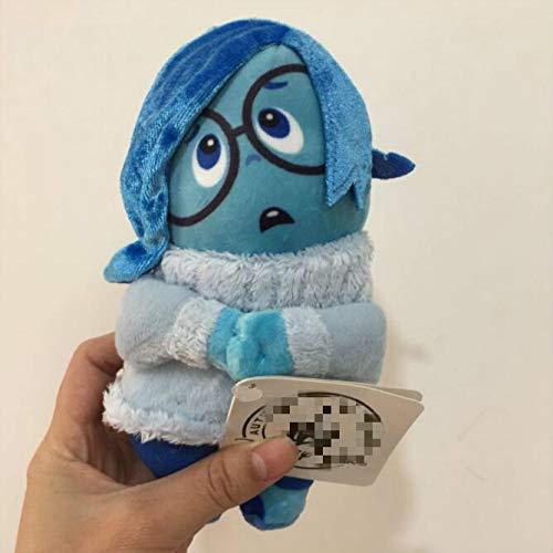 fangzhuo Juguete de Peluche Inside out Sadness Peluches Pixar Peluche Figura 16cm