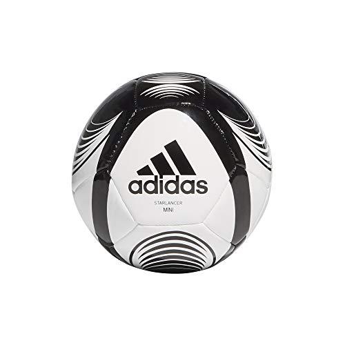 adidas STARLANCER Mini, Pallone da Calcio Unisex-Youth, Bianco Nero, 0