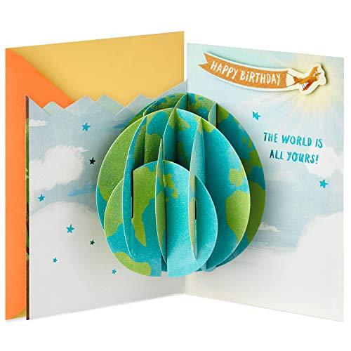 Hallmark Paper Wonder Pop Up Birthday Card (Every Year is a New Adventure)
