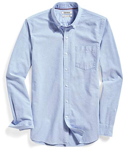 Chambray Shirt Under Sweater Mens