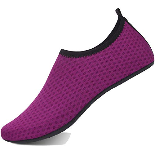 TcIFE Zapatos de Agua Hombre Mujer Zapatillas Ligeros de Secado Rápido para Swim Beach Surf Yoga