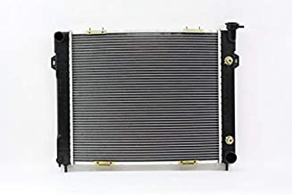 Radiator - Pacific Best Inc For/Fit 2206 1998 Jeep Grand Cherokee AT/MT V8 Plastic Tank Aluminum Core