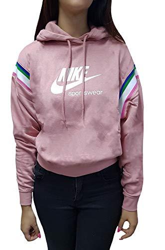 NIKE Sportswear Heritage Sudadera Mujer - algodón Talla: S